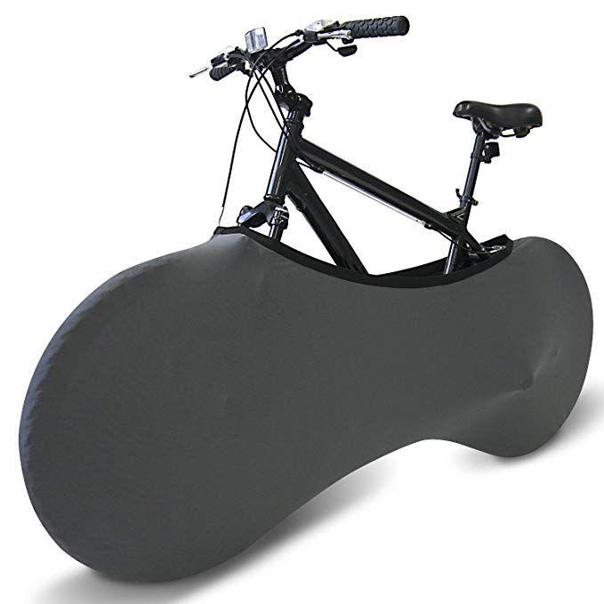 Coverful Indoor Bike Cover Washable Elastic Dirt Free Storage