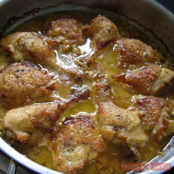 Mustáros hagymás csirke