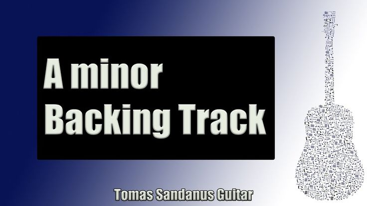 Backing Track in A Minor Pop Rock with Chords and A Minor Pentatonic Scale