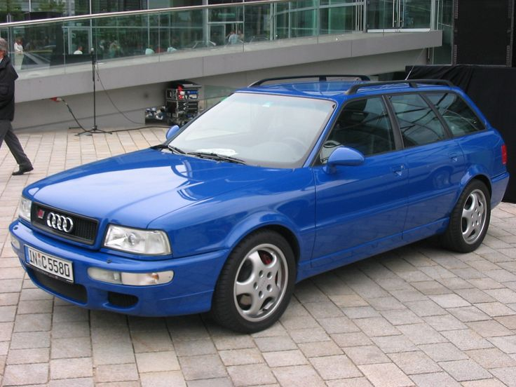 Audi RS2 - audi body, porsche engine/brakes/wheels, and it's a wagon!