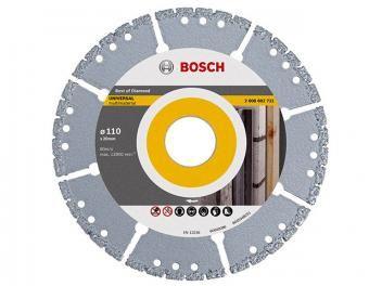 Disco de corte Diamantado UPP-SEG Multi Material - 110 x 20mm Bosch