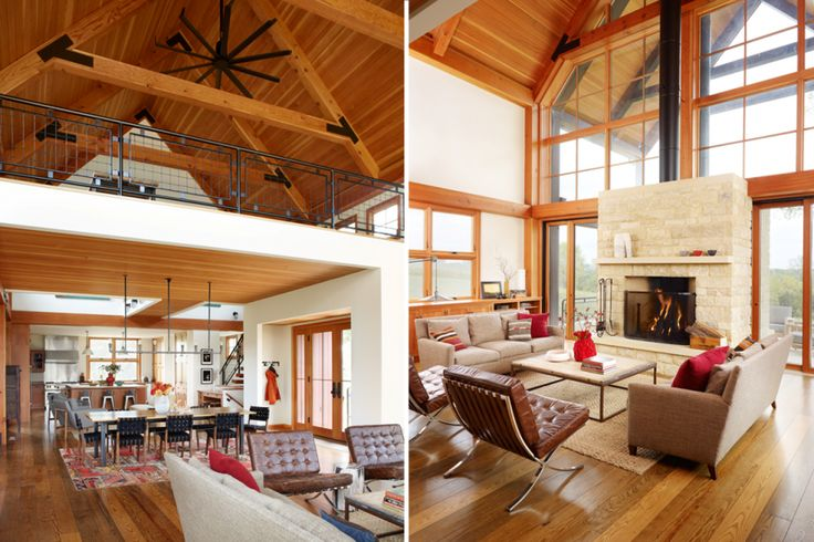 Thistle Hill Farm   Great Room   Northworks Architects + Planners