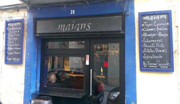 Maians seduce con sus tapas y enamora con su arroz negro. http://riceworldwide.com/arroz-negro-en-maians/