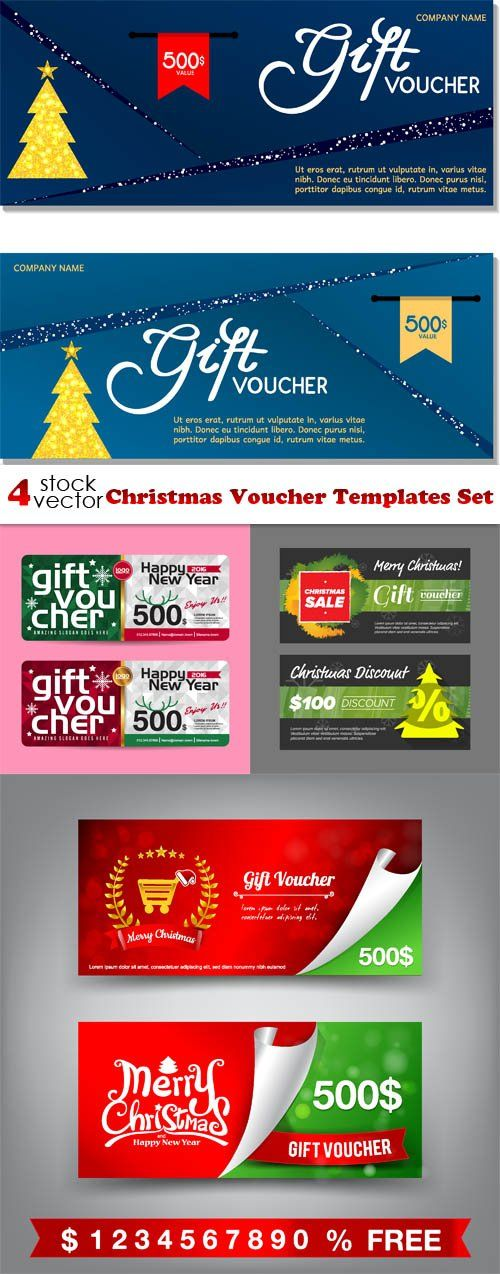 The 25+ best Christmas present voucher templates ideas on - free christmas voucher template