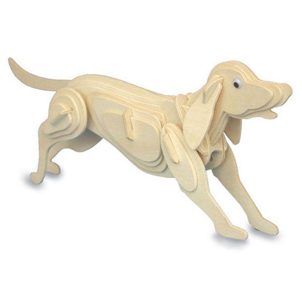 Knutselen op school: FSC houten bouwpakket hond