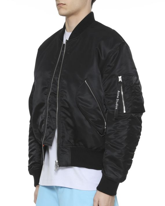 e2330152a Acne Studios Makio bomber jacket Black | Kuso | Black bomber jacket ...