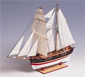 Maqueta Barco de madera de modelismo Santa Helena. ¡ÚLTIMAS UNIDADES!  Dimensiones 45x14x35 cm. Escala 1/85 Maquetas, naval, navegación, marítimo, marino.
