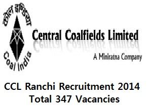 CCL Recruitment 2014 Fill Application form for 347 vacancies for Various Post .