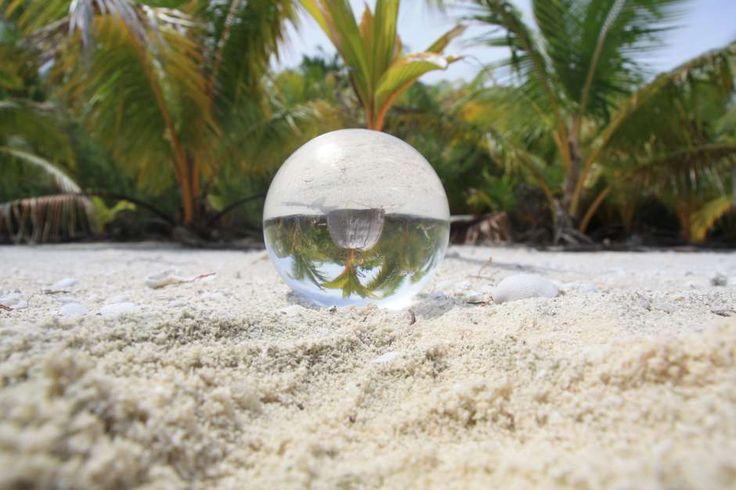 Lensball - Honeymoon island - Aitutaki - Cook Islands - Iles Cook