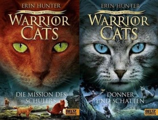 Wilde Katzen die in Clans leben. Es gibt 6 Staffel je ca. 6 Bände und noch ca. 15 Special/Short Adventures. Ich habe schon alle gelesen und sie sind der Hammer!