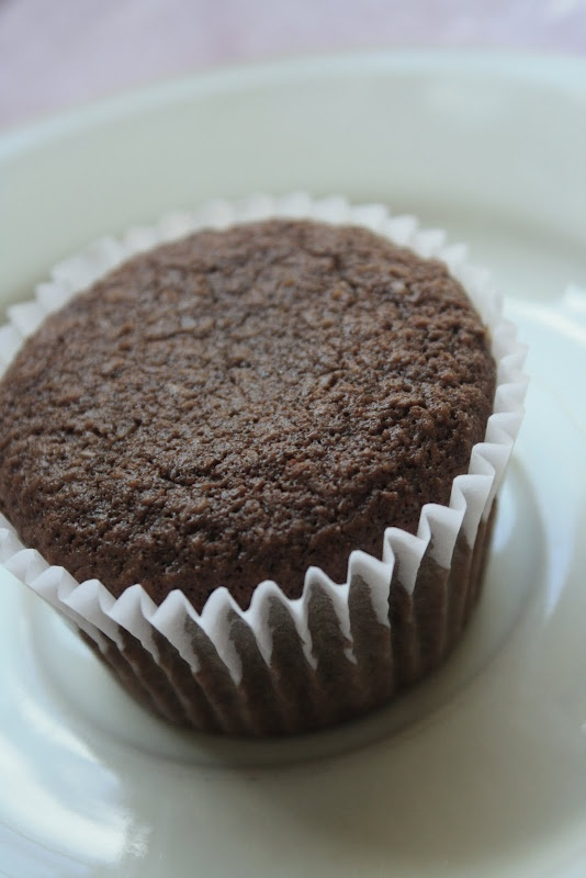 Chocolate Flaxseed Muffins with Apples | Sweet & Sound ...