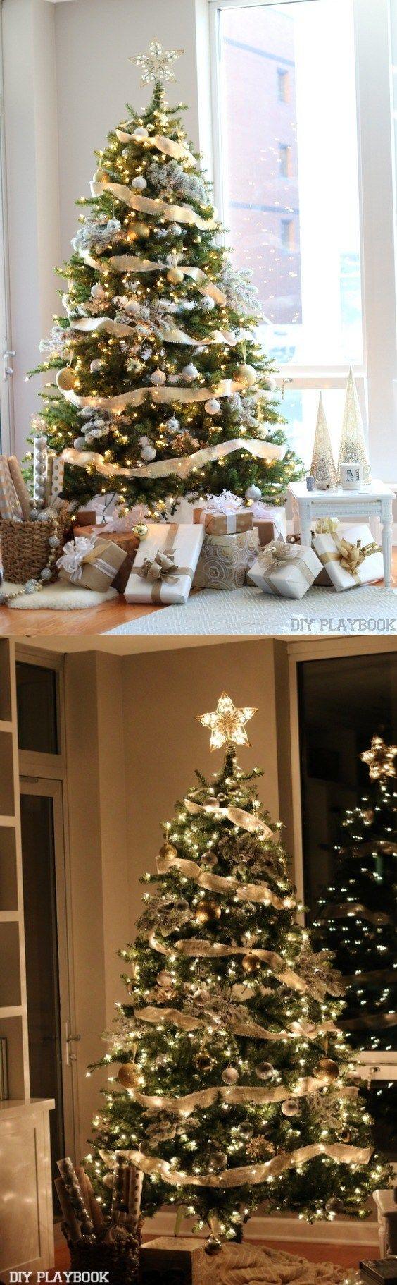 M s de 25 ideas incre bles sobre navidad dorada en - Arbol de navidad dorado ...