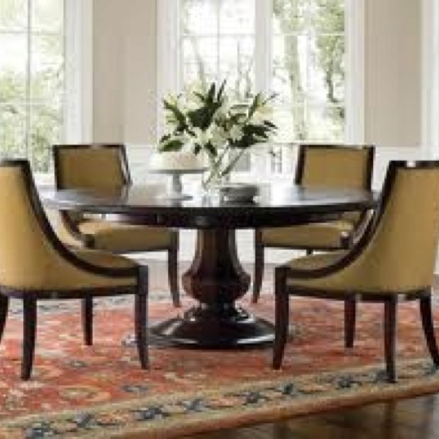 Awesome Brownstone Sienna Dining Set   Round Table For The Dining Room Pictures Gallery