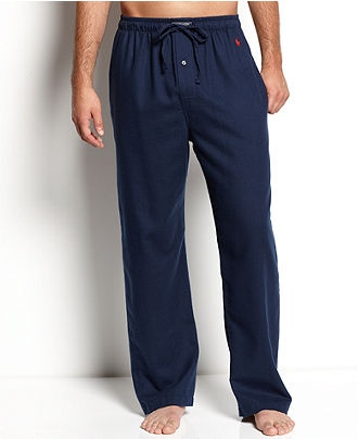 Polo Ralph Lauren Sleepwear, Flannel PJ Pant - Mens Pajamas & Robes - Macy's