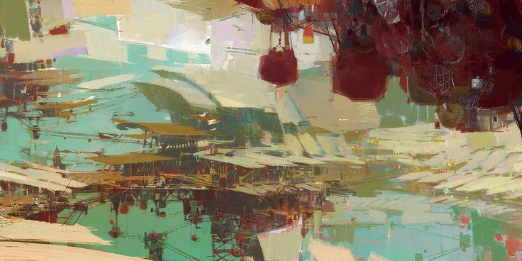 Kite City 1 - Guild Wars 2 by artbytheo on deviantART
