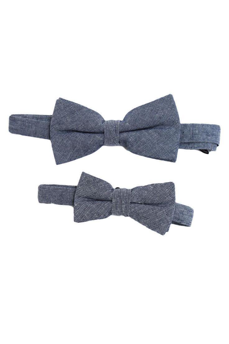 Denim Father & Son Bow-tie Set