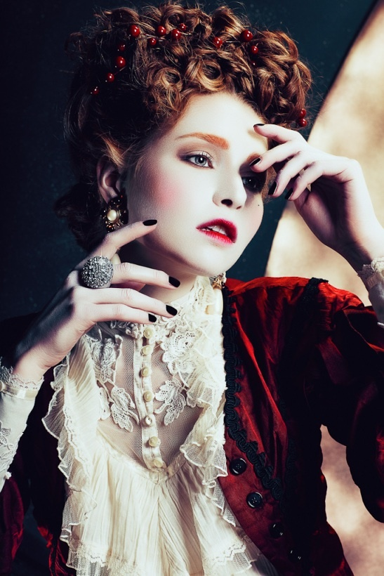 Cream + scarlet  - Yulia Gorbachenko -4