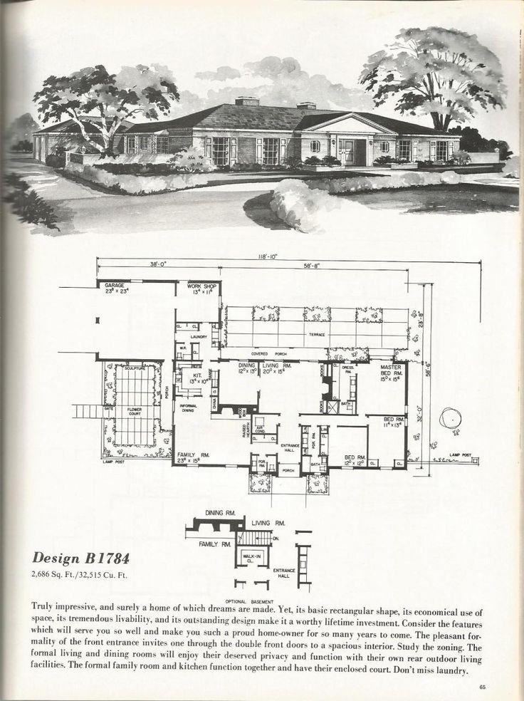 Vintage House Plans: Luxurious Homes | Antique Alter Ego