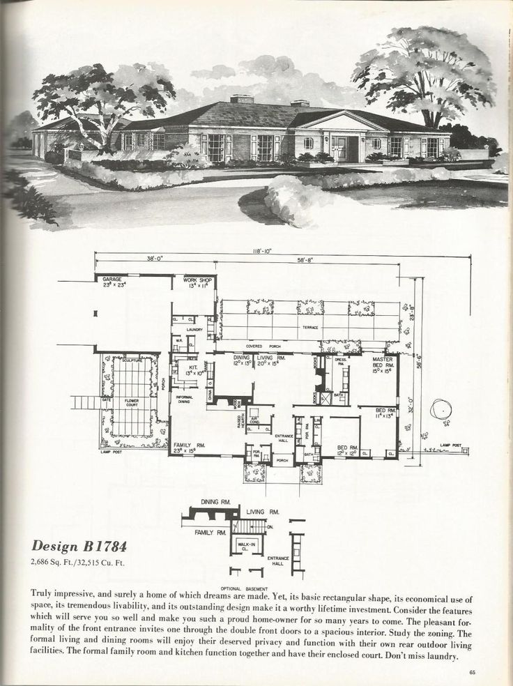 Vintage House Plans: Luxurious Homes | Antique Alter Ego