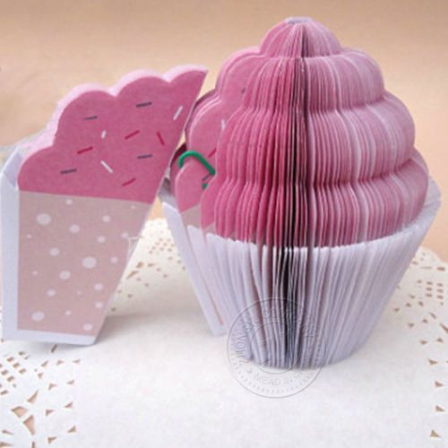 New-Color-Cake-Sticky-Notes-Mini-Notebook-Bookmark-Notes-Creative-Stationery-HOT
