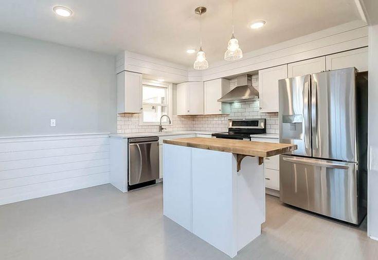 Shiplap Kitchens (Design Ideas)