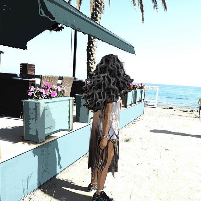Uzun bluzum sahillerin gözdesiydi 💗💗💗