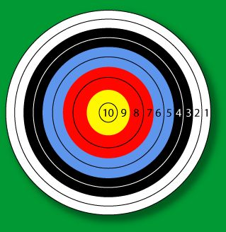 Simple Archery Targets Printable | Information about Sydney Bowmen - Australia