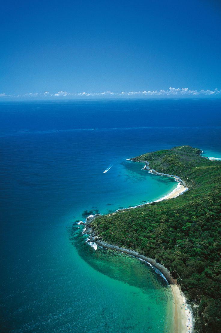 Beautiful Noosa National Park, Sunshine Coast, Australia.
