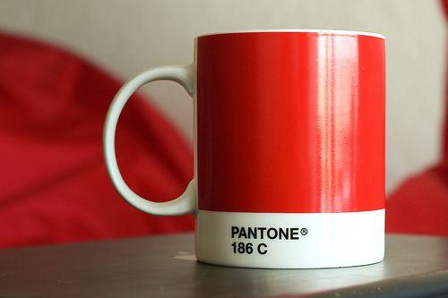 PANTONE 186 C - love it!