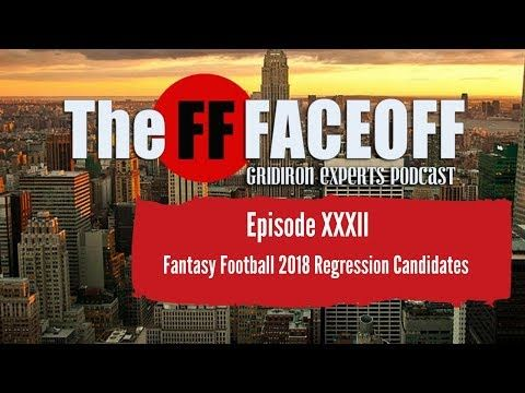 Fantasy Football 2018 Regression Candidates and Margarita Day - YouTube
