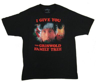 e4c719c381af0 Christmas Vacation I Give You the Griswold Family Tree T-shirt  Christmas  Gifts