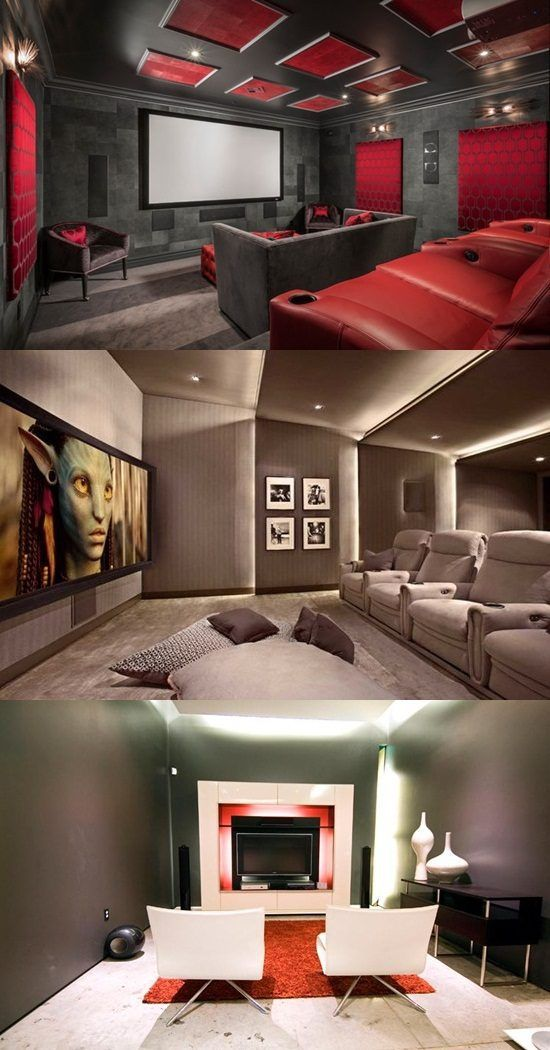 Home Theater Interior Design - http://interiordesign4.com/home-theater-interior-design/