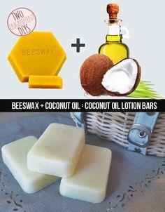 Prepare um sabonete mega hidratante apenas com cera de abelha e óleo de coco.