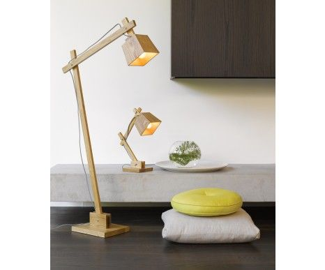 Norway floor lamp table lamp in teak beacon lighting