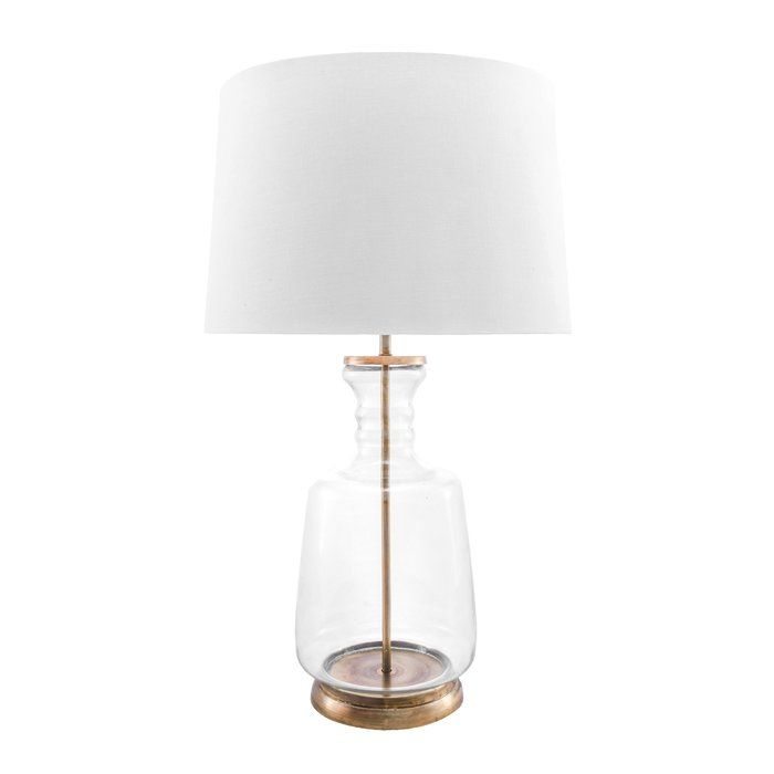 Brushgrove 24 Table Lamp Gold Table Lamp Lamp Glass Table Lamp