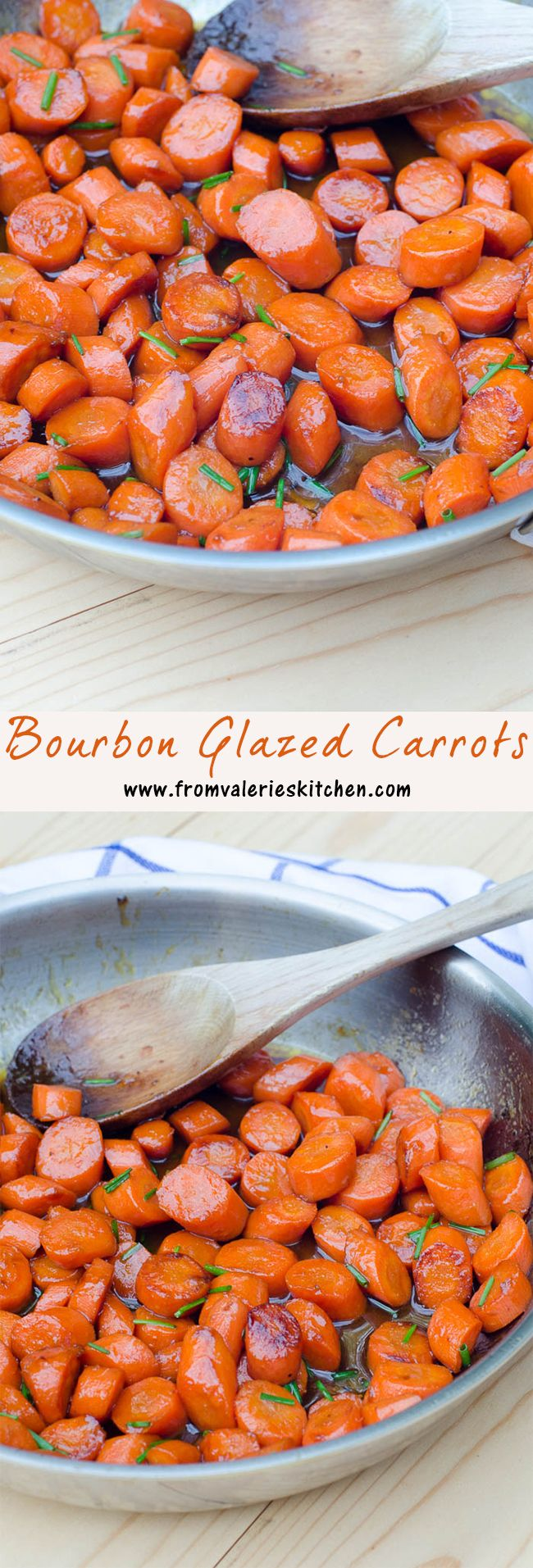 These buttery, booze spiked carrots are absolutely spot-on perfect to spruce up any holiday or special occasion menu. ~ http://www.fromvalerieskitchen.com/wordpress