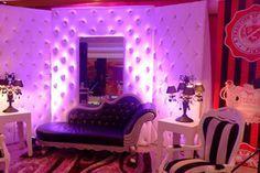 Fiestas tematica, decoracion tem victoria secret, love pink, fiesta rosa, tema victoria secret, fiesta de quinceaños con decorecion estilo victoria secret,