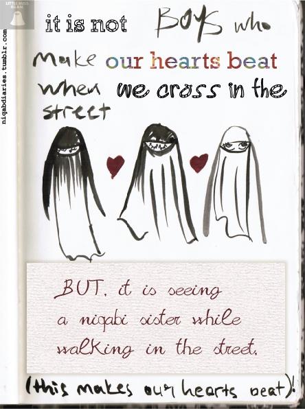 Niqab Diaries. That's definitely right!!!