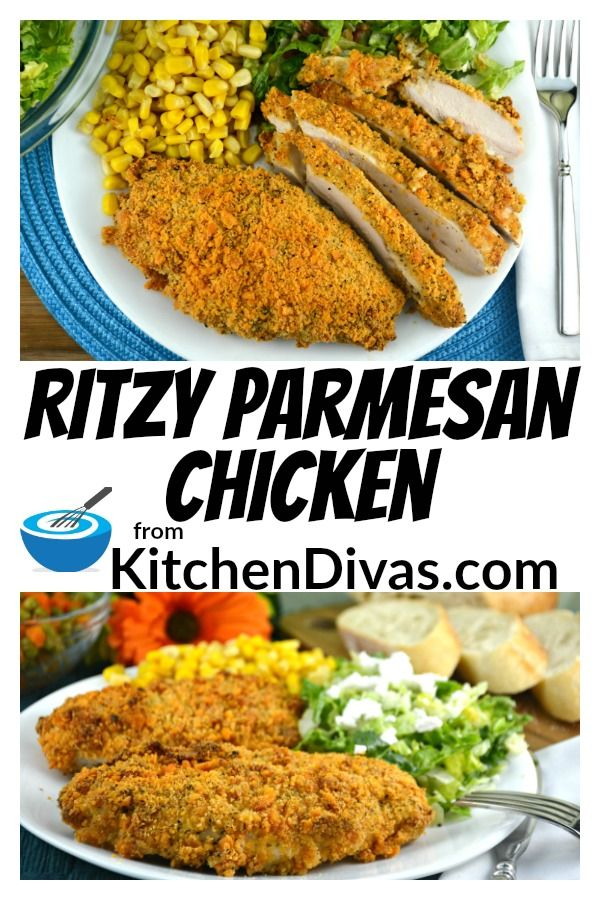 Easy Ritzy Parmesan Chicken