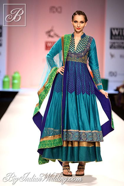Ekru Wills Lifestyle India Fashion Week 2013 | Lehengas & Sarees | Bigindianwedding
