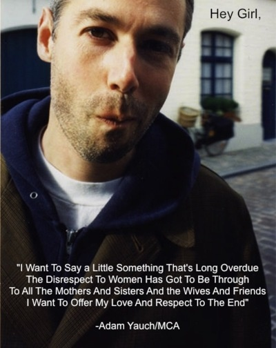 One of my favorite Beastie Boys lyrics