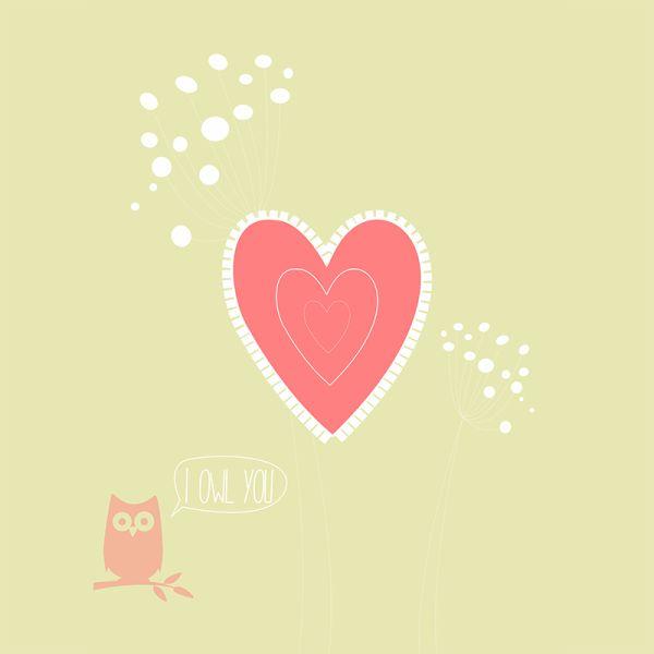 I Owl You – NUNU BABA, plakaty na ścianę, dla dzieci