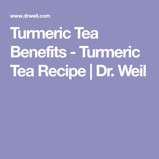 Turmeric Tea Benefits - Turmeric Tea Recipe | Dr. Weil