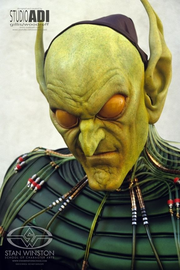 Spider-Man Green Goblin Makeup Test by Amalgamated Dynamics - The Goblin you never saw | Stan Winston School of Character Arts