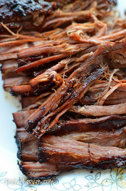 Crockpot flank steak - easy!