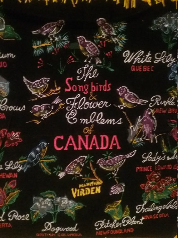 Canada Souvenier Pillow Cover Songbirds of by jeanienineandme
