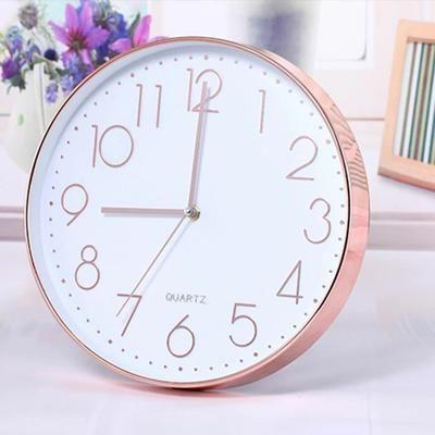 """* Horloge Murale * 30cm/12"""" Horloge Balancier Silencieux * Mouvement Silencieux. * Parfaite pour le Bureau ou la Maison * Mouvement Quartz Requiert 1x Piles AA (Non inclus)"""