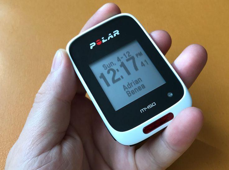 Polar M450 Review: Cel Mai Bun și Accesibil Ciclocomputer cu GPS și Centură pentru Puls