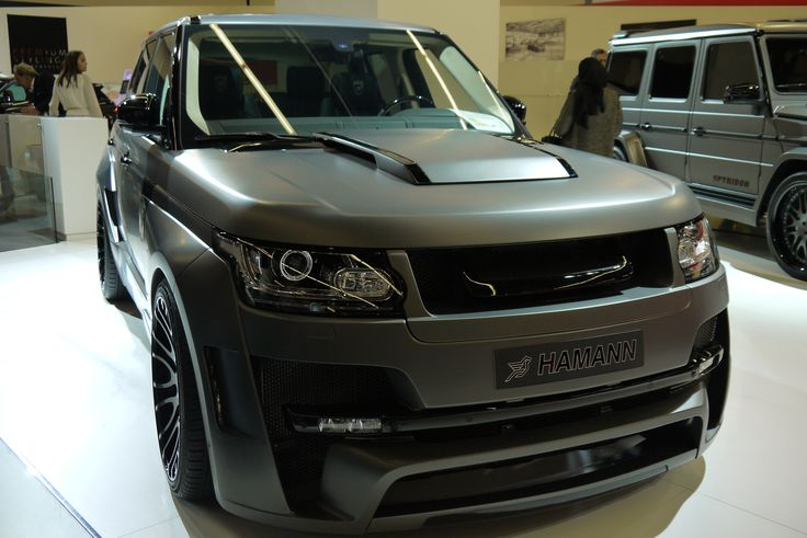 Range Rover Super Sport!