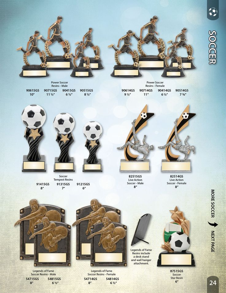 PDU - Soccer Trophies and Soccer Awards